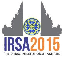 Logo IRSA 2015 Bali